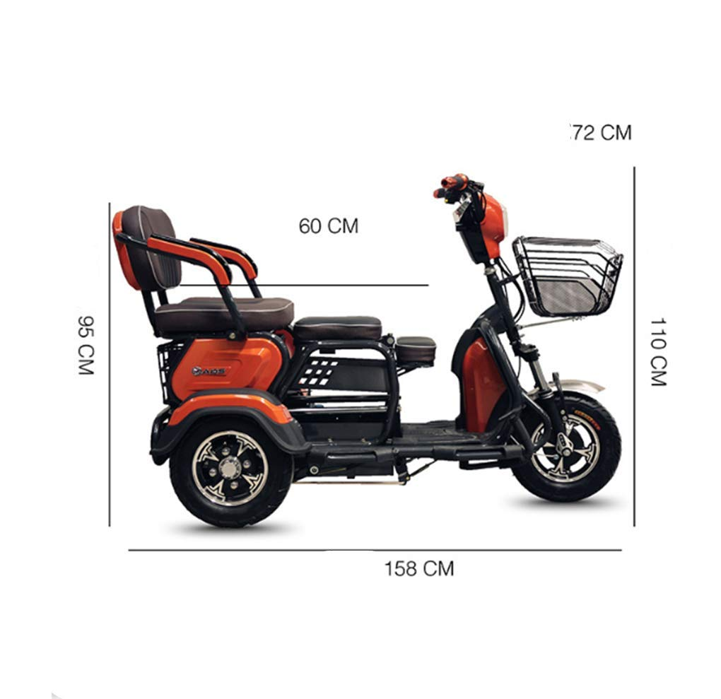 Amazon.com: CZALBL Patinete eléctrico de tres ruedas de ...
