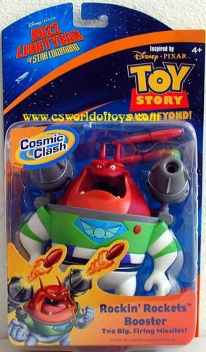 Star Command Buzz Of Lightyear (Buzz Lightyear Rockin' Rockets Booster)