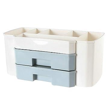 Mekta - Caja organizadora para cosméticos con cajones: Amazon.es: Belleza