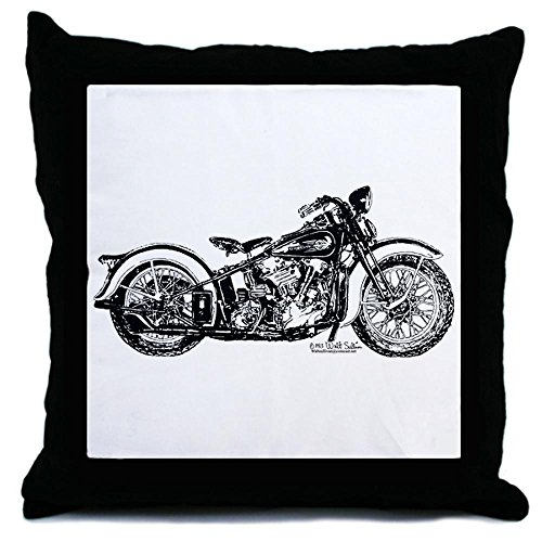 CafePress Unique DesignHarley 1936 64cubic motorcycle Throw