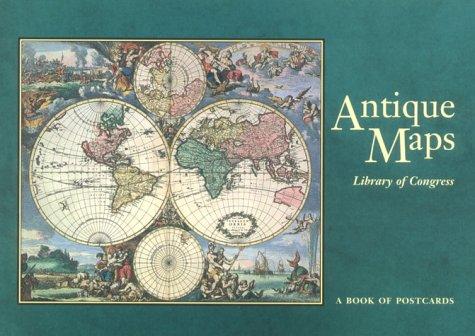 Antique Maps: Postcard Book