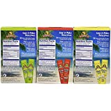 Margaritaville Singles to Go Drink Mix Ultimate Summer Variety Party Bundle - Margarita, Pina Colada & Strawberry Daiquiri - 3 x 6 Pack Boxes (18-2 Serving Packets Total)