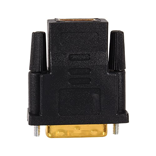 Zerone DVI 24+1 Male to HDMI Female PC Cable Adapter Converter For Digital for HDTV LCD 1080P - Gold-Plated