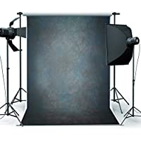 DODOING 5x7ft Vinyl Black Grey Retro Photography Background Studio Props Photo Photography Backdrop 1.5x2.1m