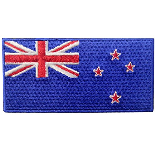 Used, New Zealand Flag Embroidered Kiwi Emblem Iron On Sew for sale  Delivered anywhere in USA