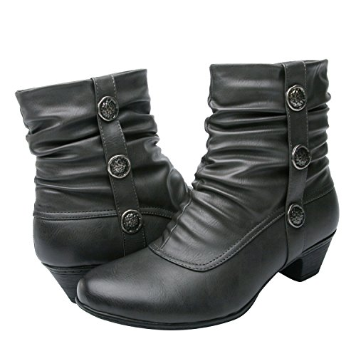 Global Win GLOBALWIN Womens KadiMaya16YY1113 Boots Grey13 B22z5RZiN