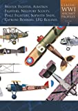 Classic World War I Aircraft Profiles, Volume 2: Bristol Fighter, Albatros Fighters, Nieuport Scouts, Pfalz Fighters, Sopwith Snipe, Caproni Bombers, LFG Roland (Classic WWI Aircraft Profiles)