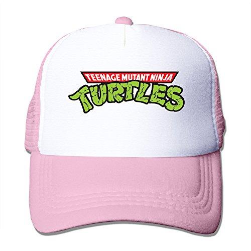 Hip-Hop Adult Unisex Teenage Mutant Ninja Turtles Logo 100% Nylon Mesh Caps One Size Fits Most Adjustable Trucker Hat (Tasha Hat)