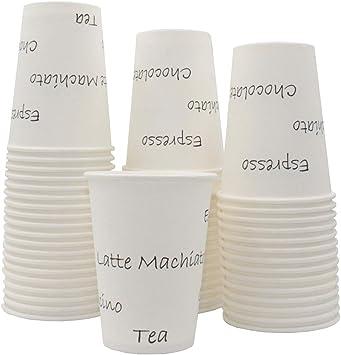 M1000 Purple//White CUPS FRANCE Lot de 1000 Gobelets Carton Jetables 8oz-230ml pour boissons Chaudes//Froides Caf/é//Th/é CF20024M