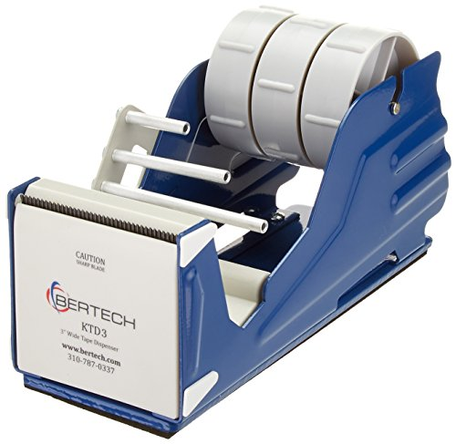 """Bertech General Purpose Tape Dispenser, For 3"""" Wide Tapes from Bertech"""