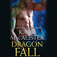 Dragon Fall Audiobook by Katie MacAlister Narrated by Tavia Gilbert
