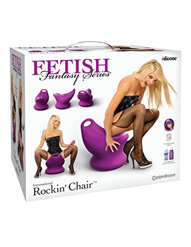 Fetish Fantasy Series International Rockin' Chair - Purple by Pipedream