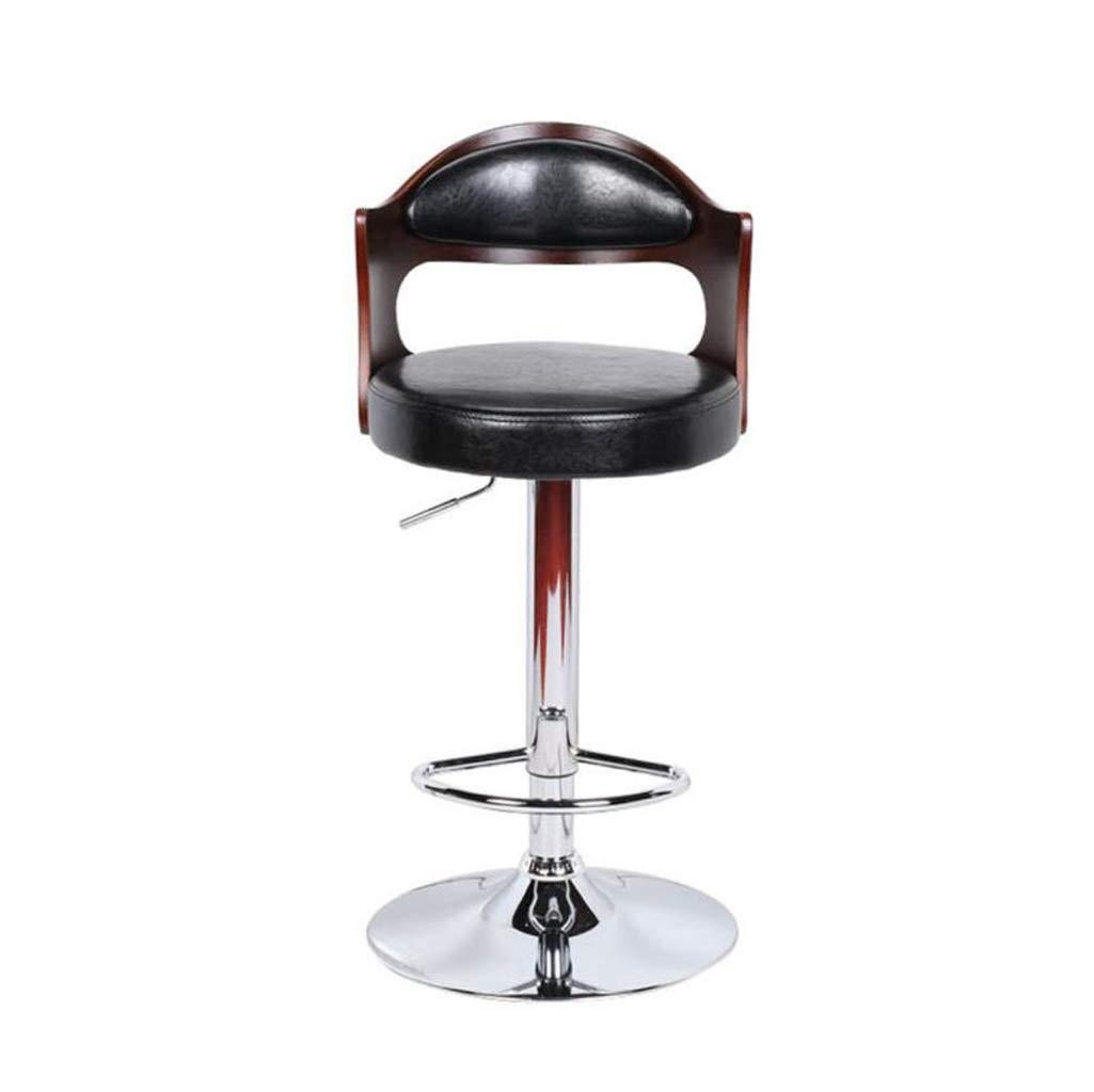Nice Bar Stools Bar Chair Rotating Lift Backrest Chair High Stools Home Creative Beauty Round Stool Stylish Minimalist Swivel Chair Bar Furniture