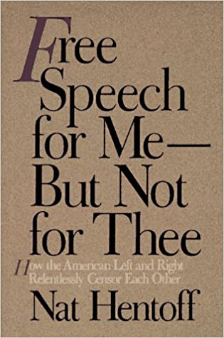 Image result for free speech for me but not for thee amazon