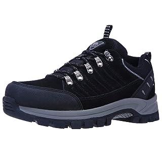 CAMEL CROWN Men's Hiking Shoes Outdoor Trekking Low-top Professional Non Slip Walking Shoes Water Resistant