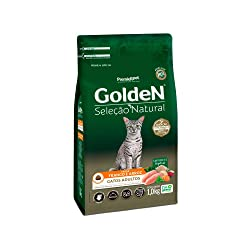 Ração Golden Seleção Natural para Gatos Adultos Sabor Frango - 10,1kg Premier Pet para Todas Todos os tamanhos de raça Adulto - Sabor Frango