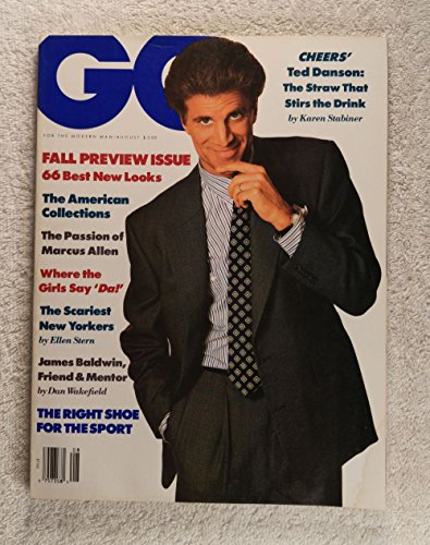 Ted Danson - Cheers - GQ Magazine - August 1988
