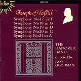 Symphonies N17, 18, 19, 20, 21