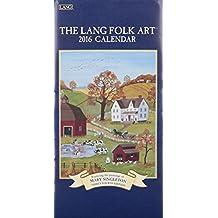 The Lang Folk Art 2016 Verticle Calendar