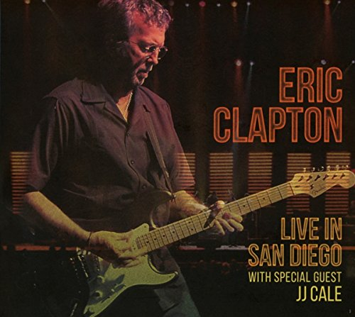 CD : Eric Clapton - Live In San Diego (with Special Guest JJ Cale) (2 Disc)