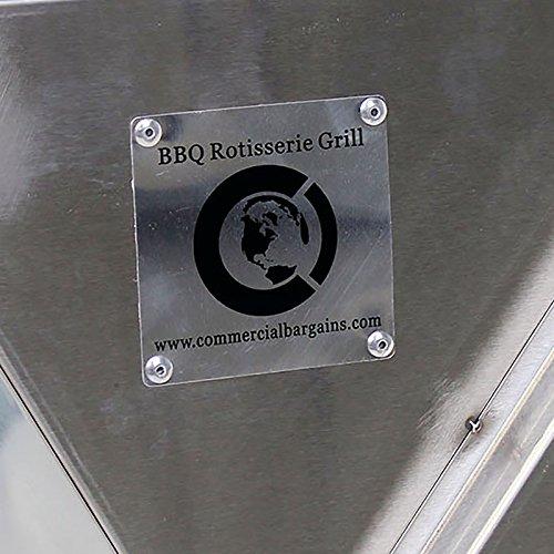 Commercial Bargains BBQ Pig Lamb Rotisserie Roaster Skewer Roast Grill Motor Souvla Back Cover