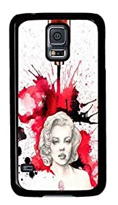 Canvas Giclee Custom Samsung Galaxy S5/Samsung S5 Case Cover Polycarbonate Black