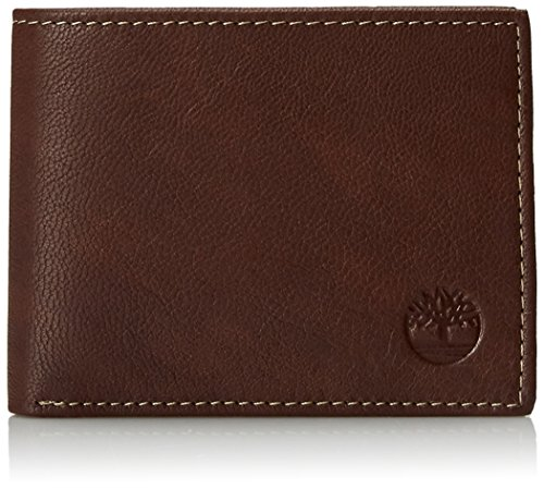 Men's Slimfold Leather Wallet, Brown