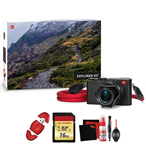 (Leica D-LUX (Typ 109) Digital Camera Explorer Kit with Memory Card and Cleaning Kit)
