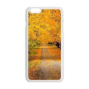Personalized Protective Hardshell Andre-case Autumn forest scenery cell phone case cover for Case Cover For Iphone 6 Plus 5.5 Inch 4TprFzW0bgV Avai Unique diy case