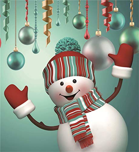 Crafts Paintworks Paint By Number Kit, Color Christmas Ball Snowman