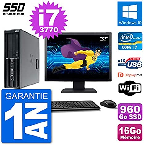 HP PC Workstation Z220 SFF 22