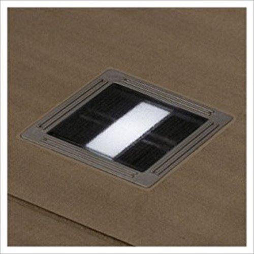 リクシル TOEX 12V 美彩 ソーラーブロックライト SLU-1型 LED *埋込ベースは別売です 8 VLC09 HH 『リクシル ローボルトライト』 『エクステリア照明 ライト』 白色 B075R3GN3X 13900
