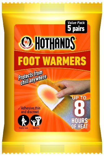 Hot Hands Foot Warmer Value Pack of 5 pairs(Pack of 2) by HotHands