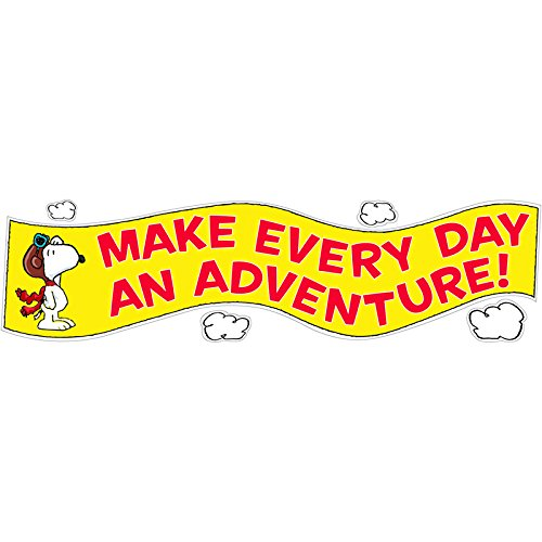 EUREKA PEANUTS FLYING ACE MOTIVATIONAL (Set of 24)