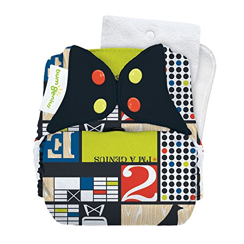 Limited Edition: bumGenius Original One-Size Pocket-Style Cloth Diaper 5.0 (Mid-Century)