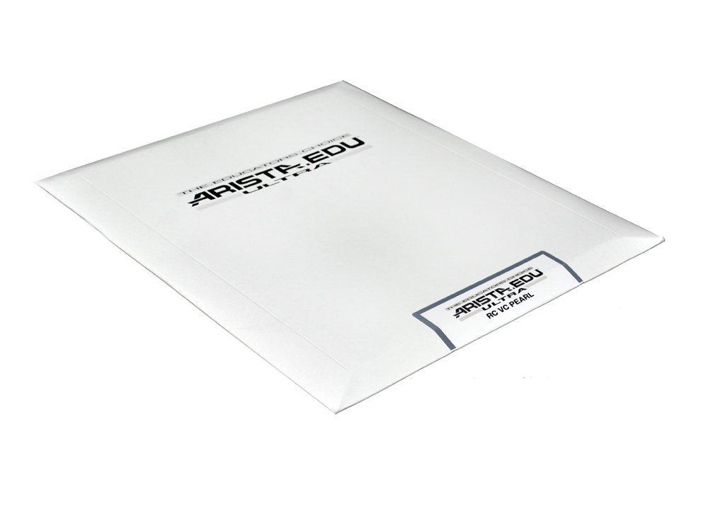 Arista EDU Ultra VC RC Black & White Photographic Paper, Pearl, 8x10, 25 Sheets