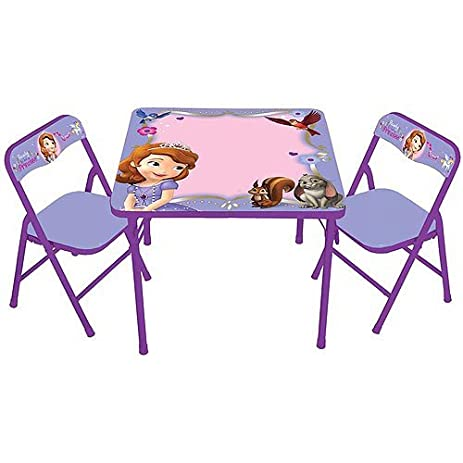 Amazon.com: Sofia the First Disney Erasable Activity Table and ...