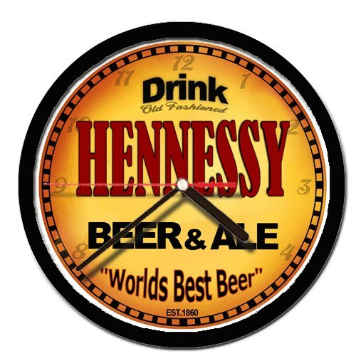 HENNESSY beer and ale cerveza wall clock