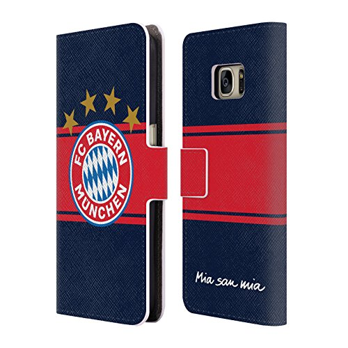 Official FC Bayern Munich Away 2017/18 Logo Kit Leather Book Wallet Case Cover For Samsung Galaxy (Bayern Munich Kits)