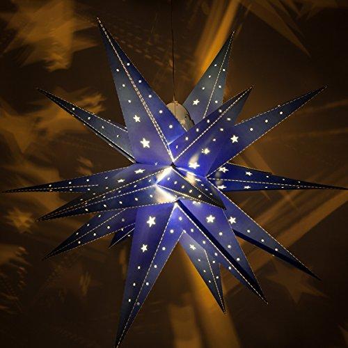 Star Lanterns With Led Lights - 2