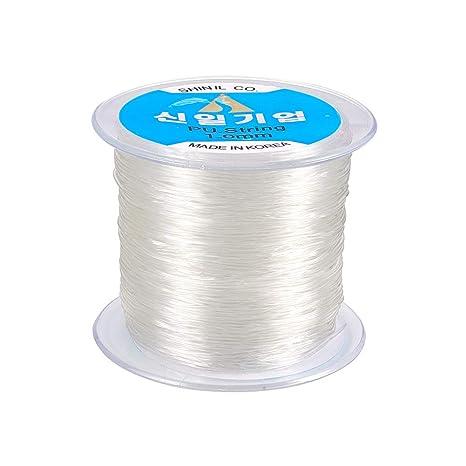10 roll Jewelry Elastic Fibre Cord Crafting Thread Stretch Bracelet String 1mm