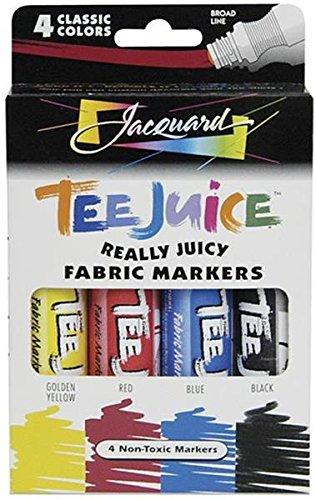 (Jacquard Tee Juice Fabric Marker Box Set (Classic))