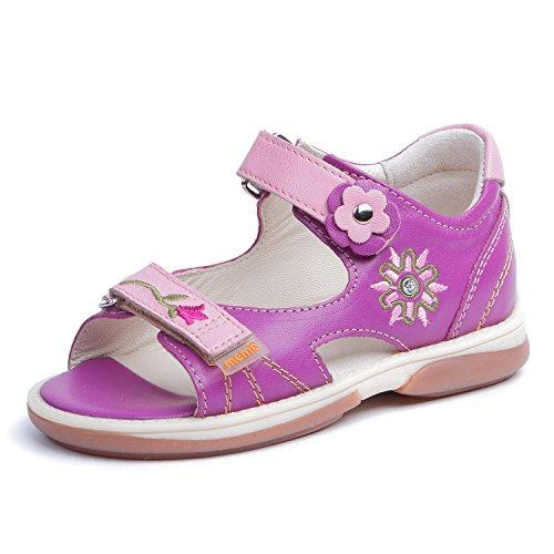 Memo Jaspis 3JE Diagnostic Sole Girl's Ankle Support Orthopedic Sandal, 31 (13.5K) by Memo