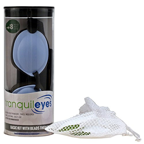 Tranquileyes Chronic Dry Eye Basic Kit with Beads (Blue)
