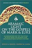 Aramaic Light on the Gospels of Mark and Luke, Rocco A. Errico and George M. Lamsa, 0963129279