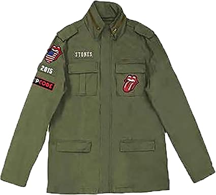 big sale d4f00 e26ed The Rolling Stones - Zip Code MILITARE - Ufficiale da uomo ...