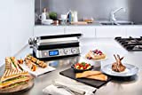 DeLonghi America CGH1030D Livenza All-Day Grill, Griddle and Waffle Maker, Large, Silver