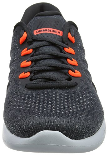 Running de Lunarglide Total Gris Crimson Grey Cool 9 Black Hombre Zapatillas Nike para Anthracite wIxHHt