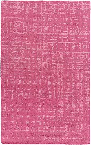 Surya MTP1027-58 Mount Perry Area Rug, 5' x 8', Bright Pink ()