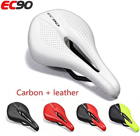 EC90 Road Bicycle Gel Synthetic Leather Saddle Seat Cycling Cushion MTB Saddles